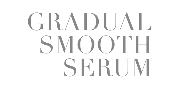 Gradual smooth serum
